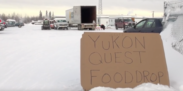 Yukon Quest Food Drop – 2017